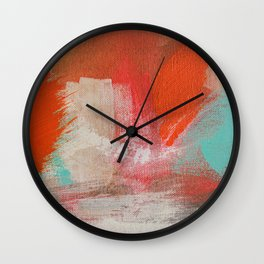 Fire on the Water Wall Clock