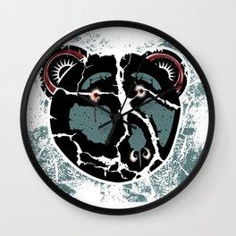 SAD BEAR Wall Clock