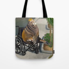 King Headlump Visits The Doctor Tote Bag