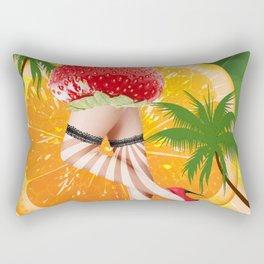 misses  tutti fruity Rectangular Pillow
