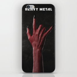 Heavy Metal iPhone Skin