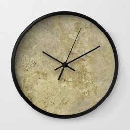 The beauty of marble Wall Clock