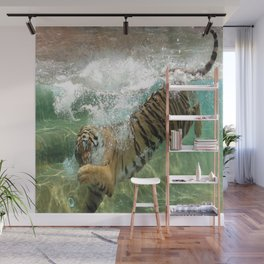 The Plunge Wall Mural