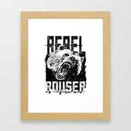 Rebel Rouser Framed Art Print