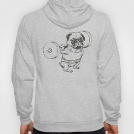 Pug Squats Hoody