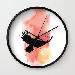 Eagle Solstice Wall Clock