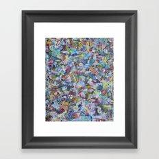 Ode to P.bear Framed Art Print
