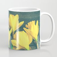 happiness Mugs featuring Happiness by Olivia Joy StClaire