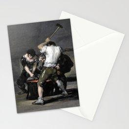 Francisco Goya The Forge Stationery Cards