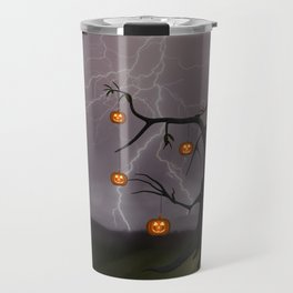 SCARY HALLOWEEN TREE Travel Mug