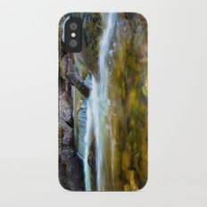 Forest Pool Slim Case iPhone X
