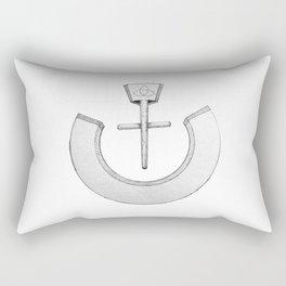 """Nazarene """"ن"""" Rectangular Pillow"""