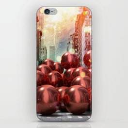 Giant Red Ball Pit NYC iPhone Skin