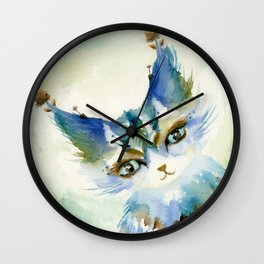 Jasper, the Mischief-Maker Wall Clock