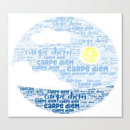 Carpe Diem (Sun) Canvas Print