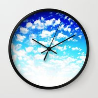 martell Wall Clocks featuring Under the Same Sky by G Martell
