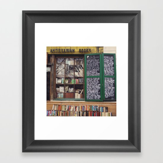 Shakespeare in Paris #2 Framed Art Print