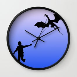 Magical Dragon Dragon Wall Clock