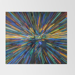 Explosion of Color Throw Blanket
