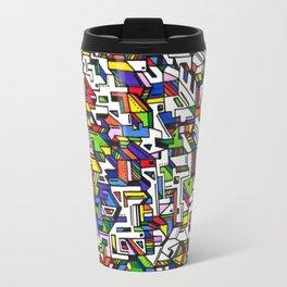 Geometric pattern Travel Mug