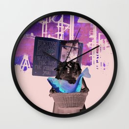 I bless the day I've found you Wall Clock