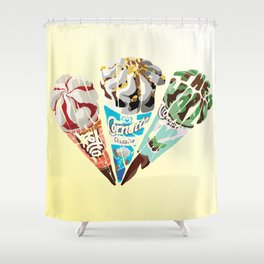 The Cornetto Trilogy Shower Curtain