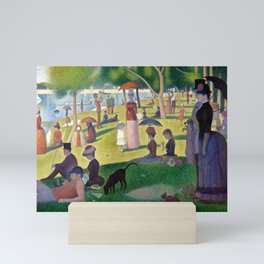 "Georges Seurat ""A Sunday Afternoon on the Island of La Grande Jatte"" Mini Art Print"