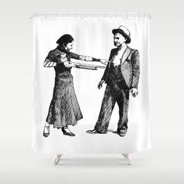 Bonnie&Clyde Shower Curtain