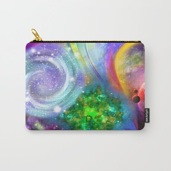 Rainbow space Carry-All Pouch