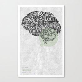 The National- Conversation 16 Canvas Print