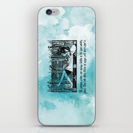 Roald Dahl - Believe in Magic iPhone Skin