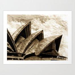 Sydney Opera House  Collection III Art Print
