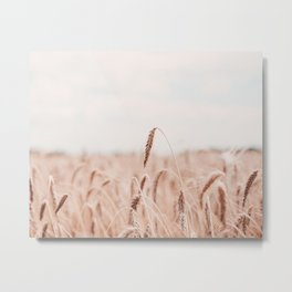 Rose Gold Spike Metal Print