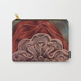 Rosette Medallion Carry-All Pouch