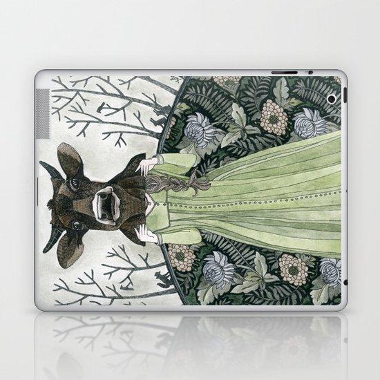 Cow Mask Laptop & iPad Skin