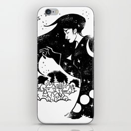 Snow and Stars iPhone Skin
