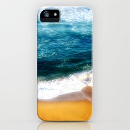 Beach at Sunset iPhone Case