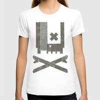 castlevania T-shirts featuring Nes Skull by Hector Mansilla