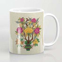 Peony vase A type : Minhwa-Korean traditional/folk art Coffee Mug