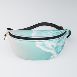 Turquoise Blush Ocean Dream #1 #water #decor #art #society6 Fanny Pack