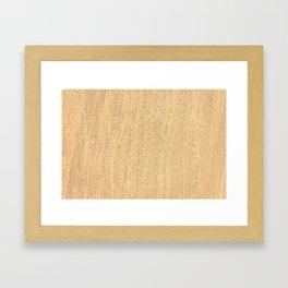 The Sand (Color) Framed Art Print