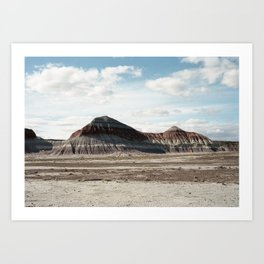 Layers of the Petrified Forest (35mm Film) Art Print