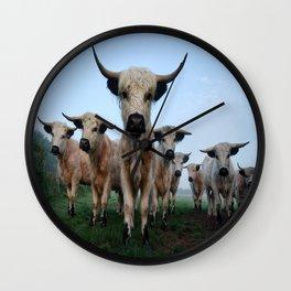 High Park Cattle Wall Clock