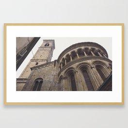 Cathedral in Bergamo, Italy Framed Art Print
