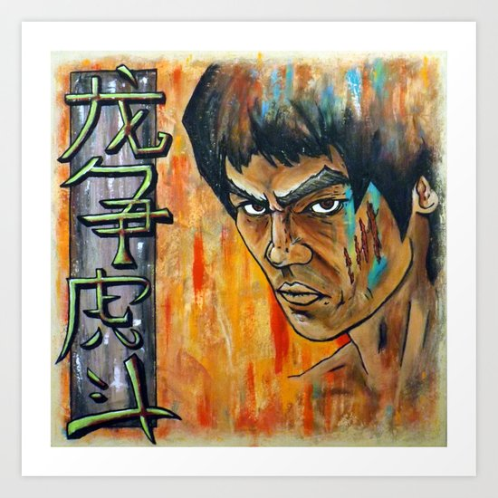 Enter the Dragon Art Print