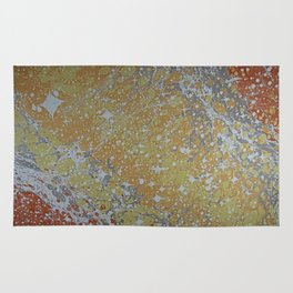Custom Water Marbling -- Cosmos! Rug