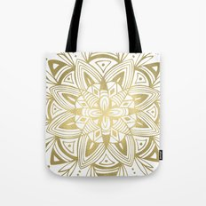 Mandala - Gold Tote Bag