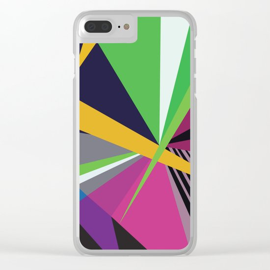 Amazing Runner No. 8 Clear iPhone Case