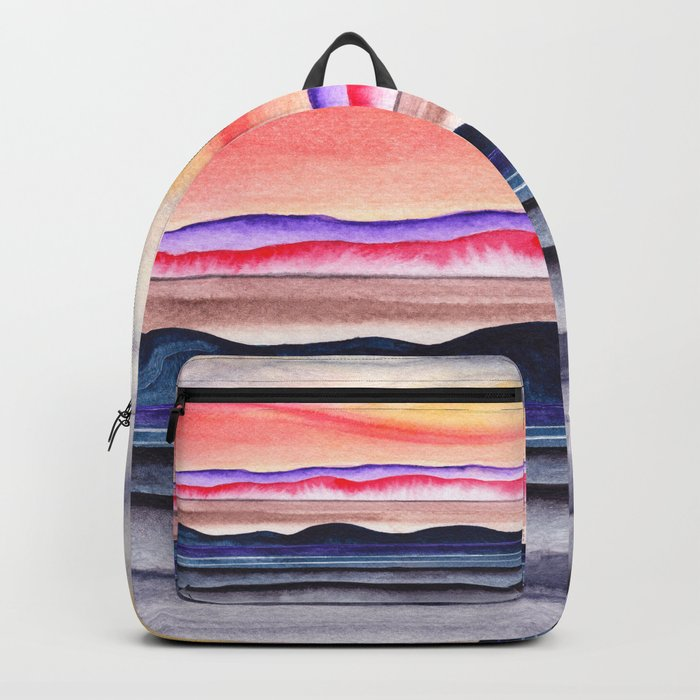 Abstract nature 07 Backpack