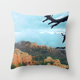 Bryce Canyon and All Those Clouds Throw Pillow